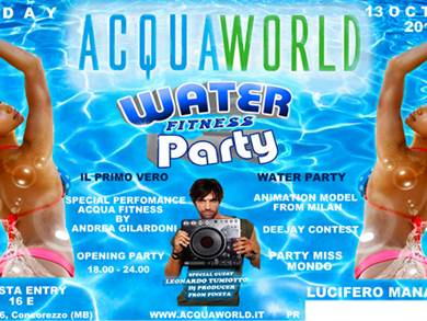 Water Fitness Party all'Acquaworld