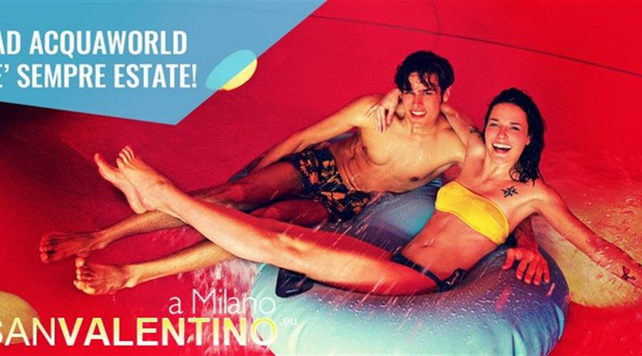 Love is in the water ad Acquaworld!