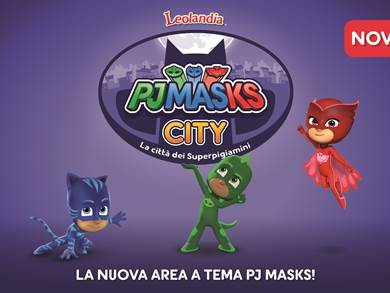 PJ Masks City a Leolandia
