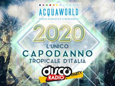 Capodanno 2020 all'Acquaworld
