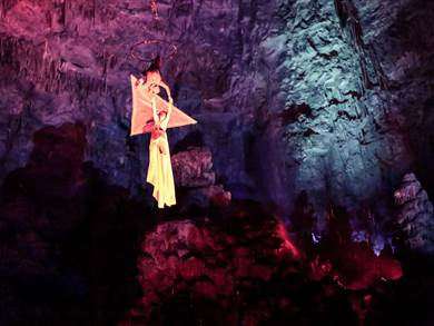 Hell in the Cave 2019 alle Grotte di Castellana
